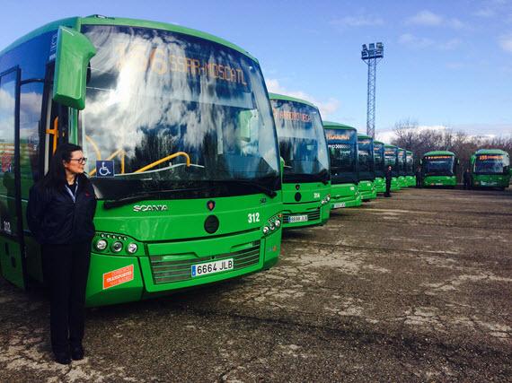 16 nuevos autobuses para Alcobendas, San Sebastián de los Reyes y Colmenar