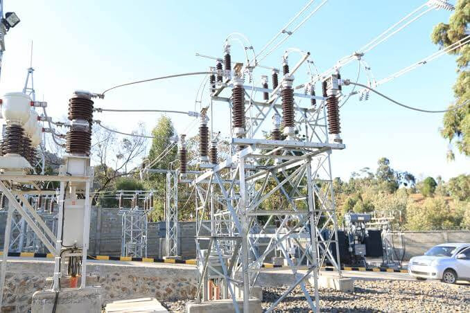 Kenya Power sub-station.  PHOTO | BMS