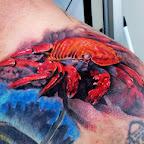 tattoo on shoulder crab - tattoo designs
