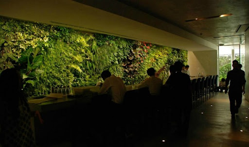 Green Wall at Costume National Aoyama Complexe 2