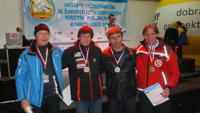 Medalisci XI ZIP Czudek - Czechy Kaczanowski - Litwa Krygowski - USA  Wójcik Czechy