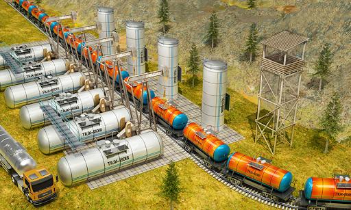 Indian Train City Pro Driving- Oil Tanker Train  screenshots 2