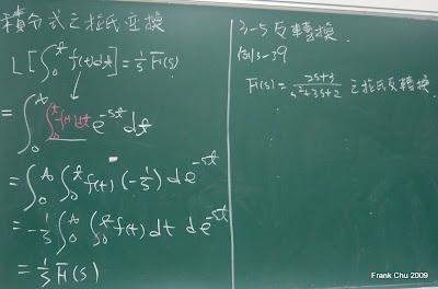 積分式之接氏轉換