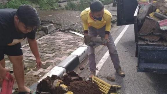 Pot Bunga di Jalan Rasuna Said Dirusak, Begini Reaksi Pemko Padang