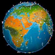 world map atlas 2019  Icon