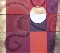 """""""Tanz"""", Öl auf Leinwand, 68x60, 2008"""