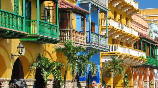 balcones de Cartagena
