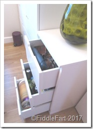 craft drawers in bedroom