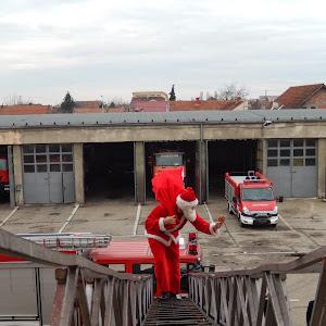 Mos Craciun pompier - 2014