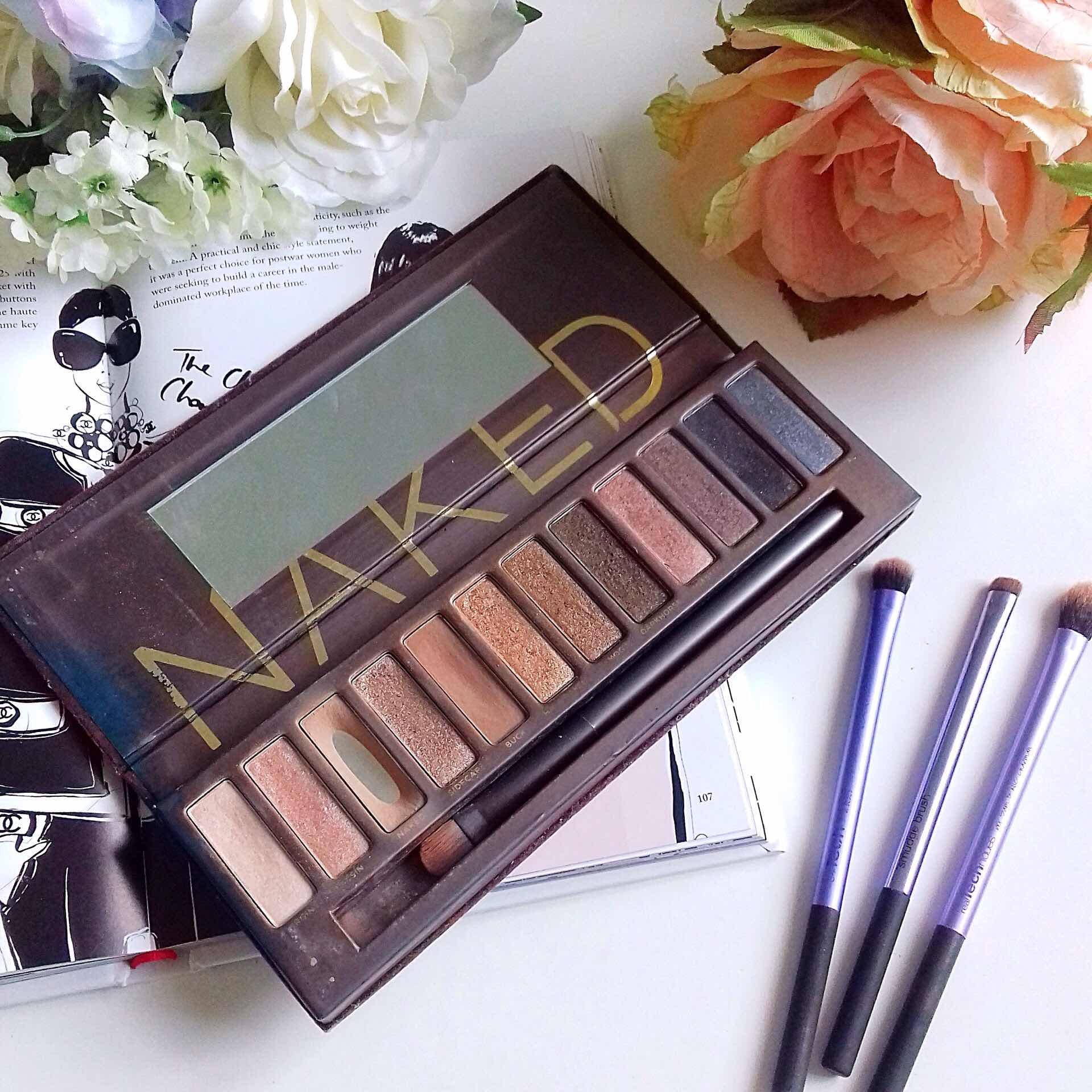 naked palette, urban decay, eyeshadow palette, makeup, eulogy,