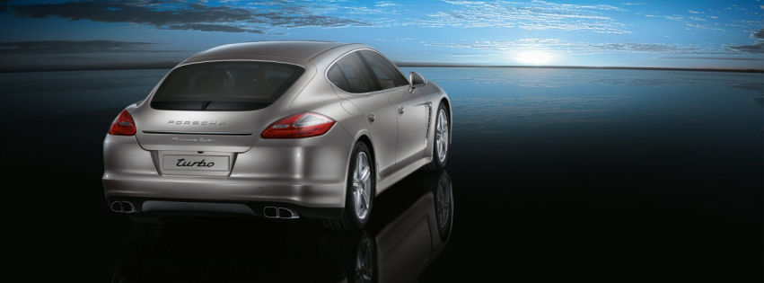 Porche panamera turbo facebook cover