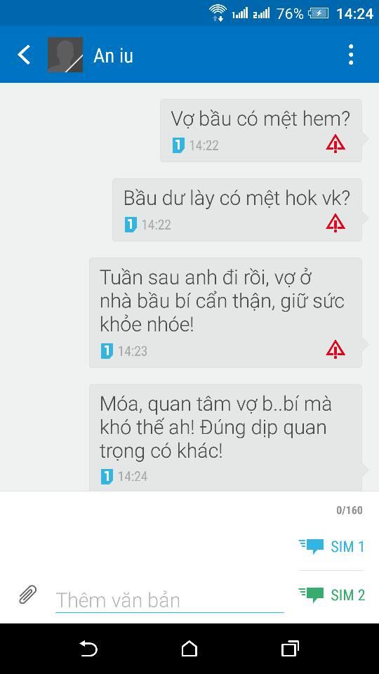 Nhà mạng chặn tin nhắn SMS có từ bầu