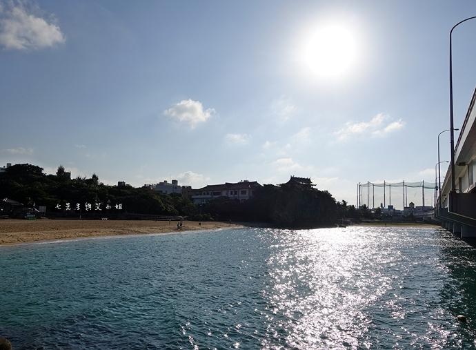 13 沖繩自由行 那霸一日遊 波上宮、波之上海灘、海底觀光遊覽船、白鯨號夕陽遊輪晚餐