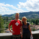 my mom and I at Bundhaus in Bern, Switzerland in Bern, Bern, Switzerland