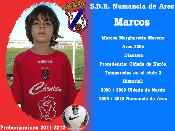 ADR Numancia de Ares. Prebenxamíns 2011-2012. MARCOS.