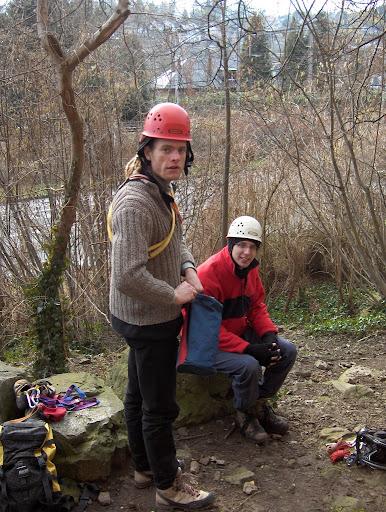 Klimweekend Dave februari 2006