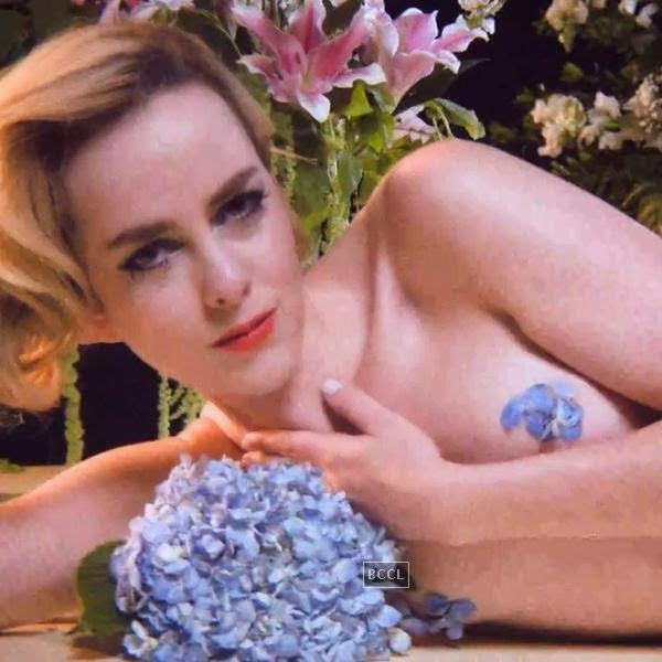 "Jena Malone got naked for her music video,  ""Dead Rabbit Hopes."""