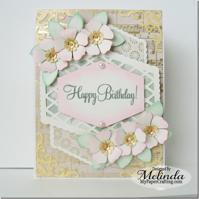 DCWV Butterfly Garden Stack Card