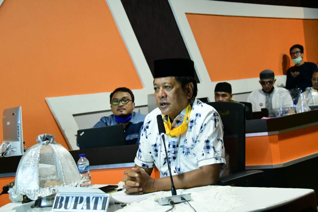 """Bupati Soppeng Ikuti HBH IKA SMAN 200/1, Kaswadi"""" Kami Butuh Dukungan dan Support Dalam Situasi Yang Ketidakpastian Saat Ini"""