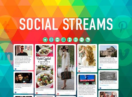 Social Streams Reader online