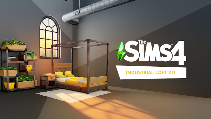 |NEWS&UPDATES| THE SIMS 4 INDUSTRIAL LOFT KIT IS OUT!
