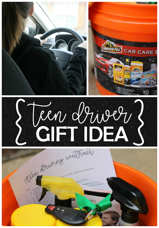 Teen Driver Gift Idea at GingerSnapCrafts.com