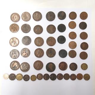 50 Piece British Empire Coin Lot 1