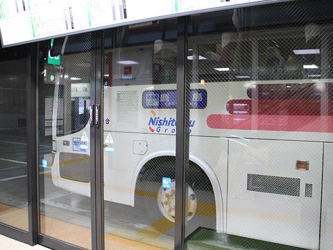西鉄高速バス「桜島号」昼行便 3913 博多BTにて