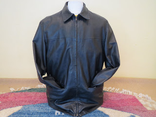 Barneys New York Leather Jacket