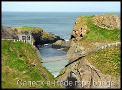 Carieck-a-Rede rope bridge
