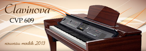 Claudi le piano peter baartmans pr sente le clavinova for Yamaha clavinova cvp 601