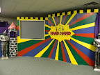 The 1st-3rd graders use this room for Children's Worship.  Children's Worship meets on the 1st and 3rd Sundays during the school year and on the 1st Sunday each month during the summer.