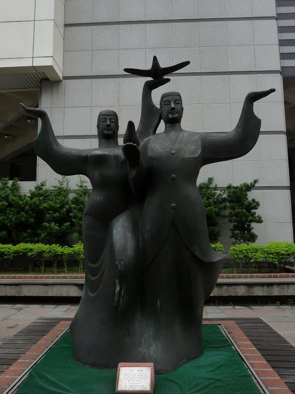 TAIWAN . Taipei De Shandao Temple jusqu à T 101 à pied... - P1160278.JPG