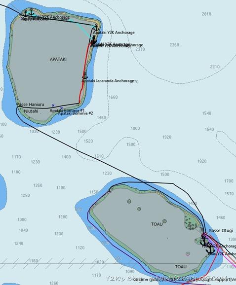 Apataki_Toau Map