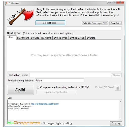 Folder Axe 7.0
