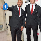 OIC - ENTSIMAGES.COM - Chris Robshaw, Joe launchbury at the  Carry Them Home - rugby dinner (Suits provide by Eden Park) at the Grosvenor House London 5th August 2015 Photo Mobis Photos/OIC 0203 174 1069