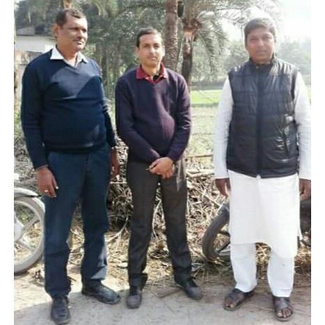 मीनापुर:  ईटीवी ब्यूरो चीफ के साथ