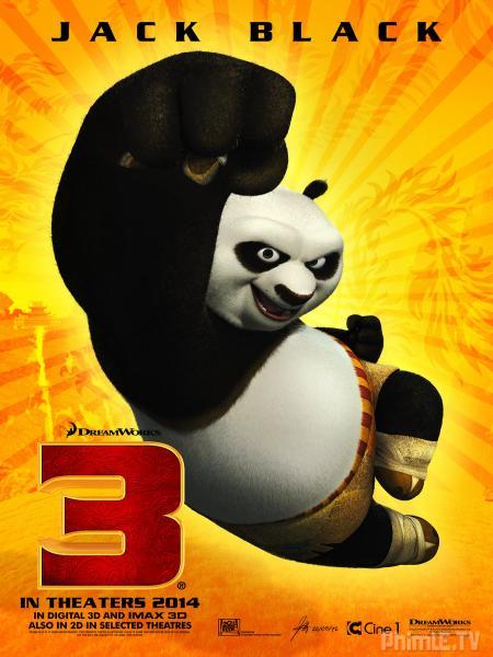 Phim Công Phu Gấu Trúc 3 - Kung Fu Panda 3 - Lồng tiếng