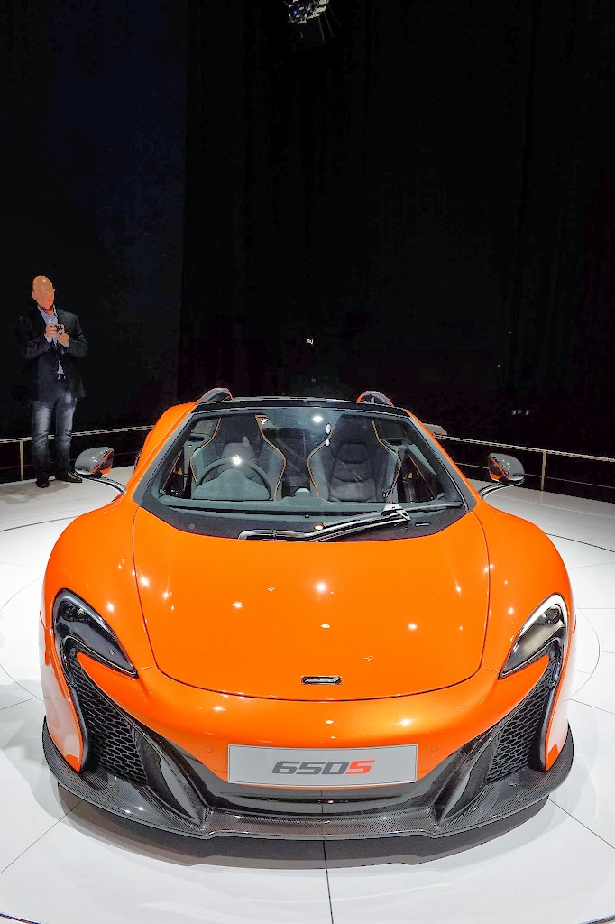 McLaren 650S Spider Geneva Motor Show 23