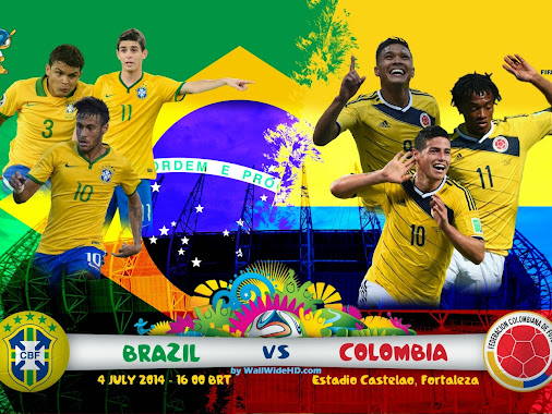 FIFA WORLD CUP 2014 BRASIL, QUARTER-FINALS  BRAZIL V CHILE ???  Who'zz gonna win ??? Predict scores ...
