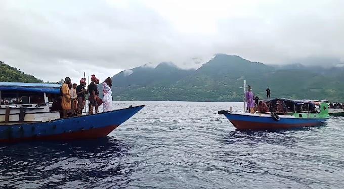 Jumat Agung di GMIT Elim Dadibira (Alor), Kisah Yesus Melalui Parade Drama Via Laut