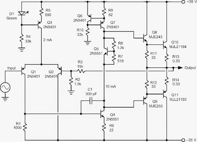 danny 40w amplifier sample pcb