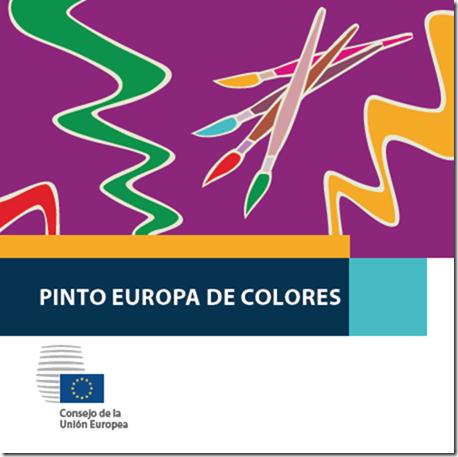 colorea Europa 9 de mayo