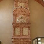 Musée d'archéologie nationale, Salle d'archéologie comparée : cheminée