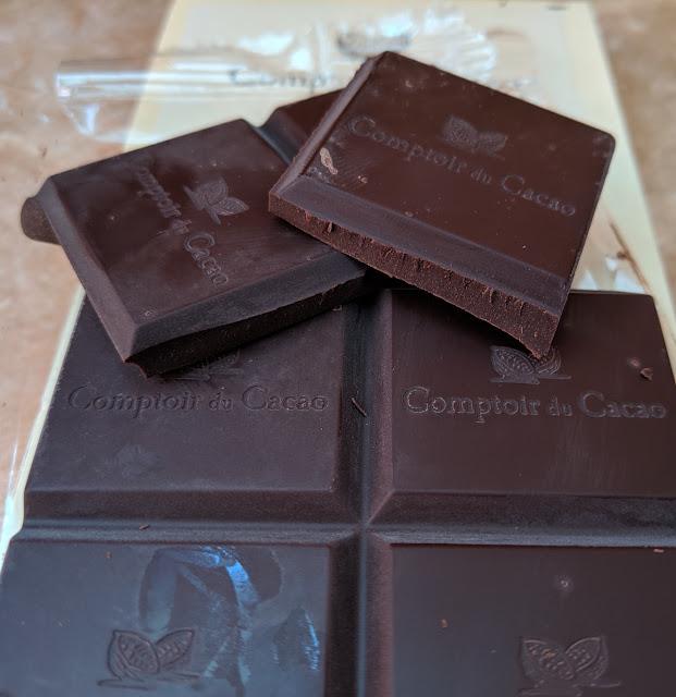 80% comptoir du cacao ouganda bar
