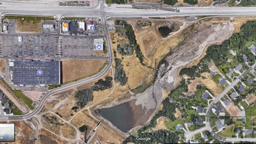 2017-09-05 Dry Creek Google Map