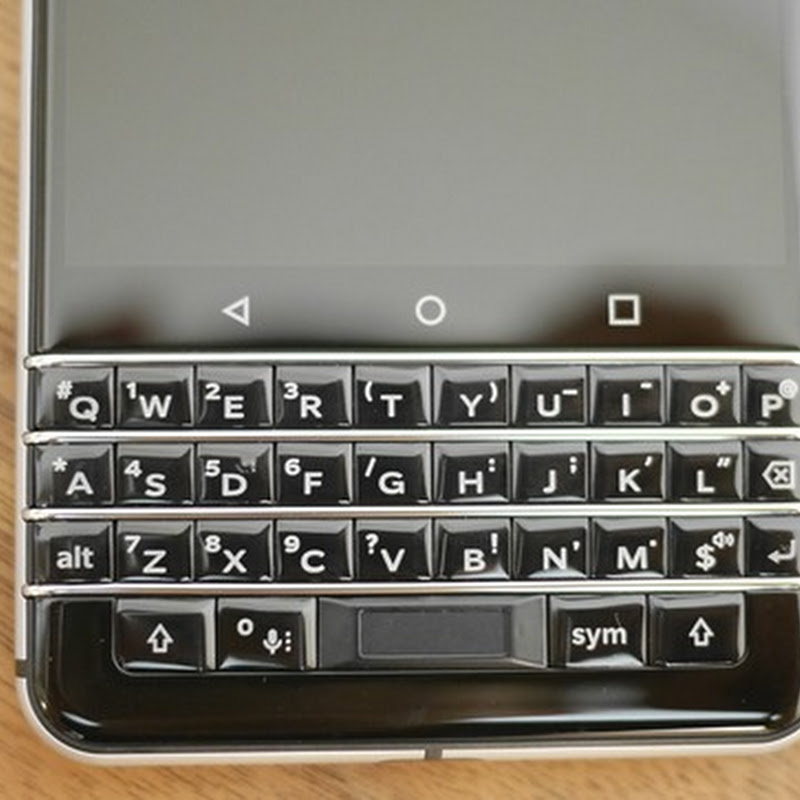 [BlackBerry KEYone] ATOKで日→英への切り替え後に記号入力になる場合の対処