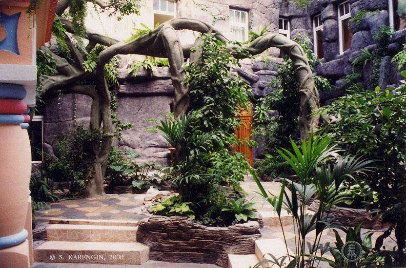 Зимний сад, ландшафтный дизайн, Сергей Каренгин, landscape design, Serge Karengin