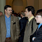 Discussing Events At Sportsmens Day At Capitol.jpg