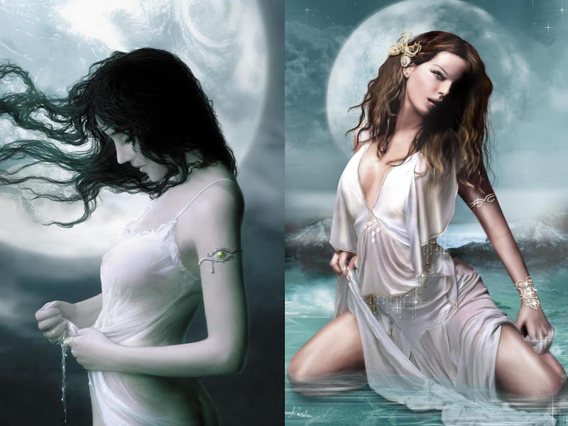 Beautiful Sorceress Beauty, Moon Magic